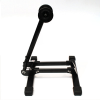 Line Up Stand Single Bike Biycle Storage Black Bicycle Rack Road Or Mtb