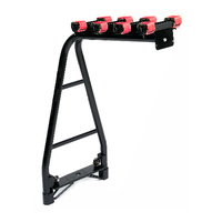 Velobici A-Frame 4 Bike Tow Ball Car Rack Straight Base Carrier