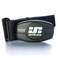 Jetblack Heart Rate Monitor - Dual Band Technology (Bluetooth/Ant +) Soft Strap