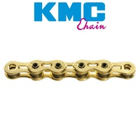 KMC K810Sl 1/2 X 3/32 112L Bmx Bicycle Bike Chain Ti-Nitride Gold