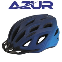 Azur L61 Cycling Helmet Satin Blue/Sky Fade Bike Helmet