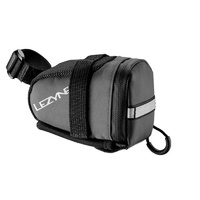 Lezyne Small S-Caddy Bike Saddle Bag Black/Grey