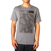 Fox Racing  Mens Necro Short Sleeve T-Shirt Grey