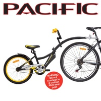 Pacific Tag A Long Cycling Bicycle Bike Trailer Black/Yellow