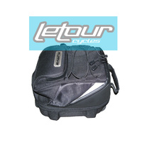 RJAYS MOTORCYCLE ADVENTURER SEAT BAG TOURING EXPANDABLE LUGGAGE ADVENTURE PACK