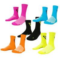 Volta Neon Tall High Cycling Socks