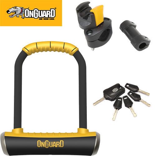 Onguard Brute 115 X 202Mm Std Cycle Bike Bicycle U-Lock